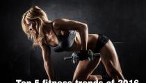 Top 5 HOT & HAPPENING Fitness trend in 2016