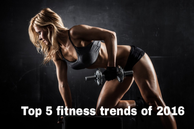 Top 5 HOT & HAPPENING Fitness trend in 2016