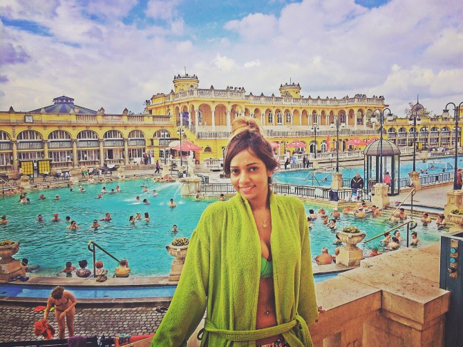 BUDAPEST thermal spa / Szechenyi thermal bath