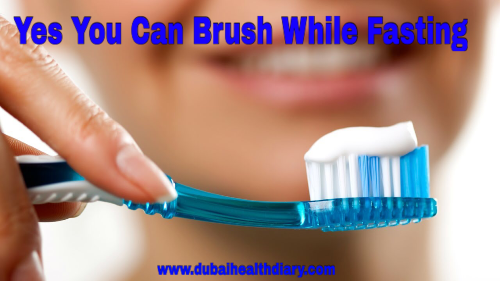 YES YOU CAN BRUSH WHILE FASTING ( ITS NOT HARAM)