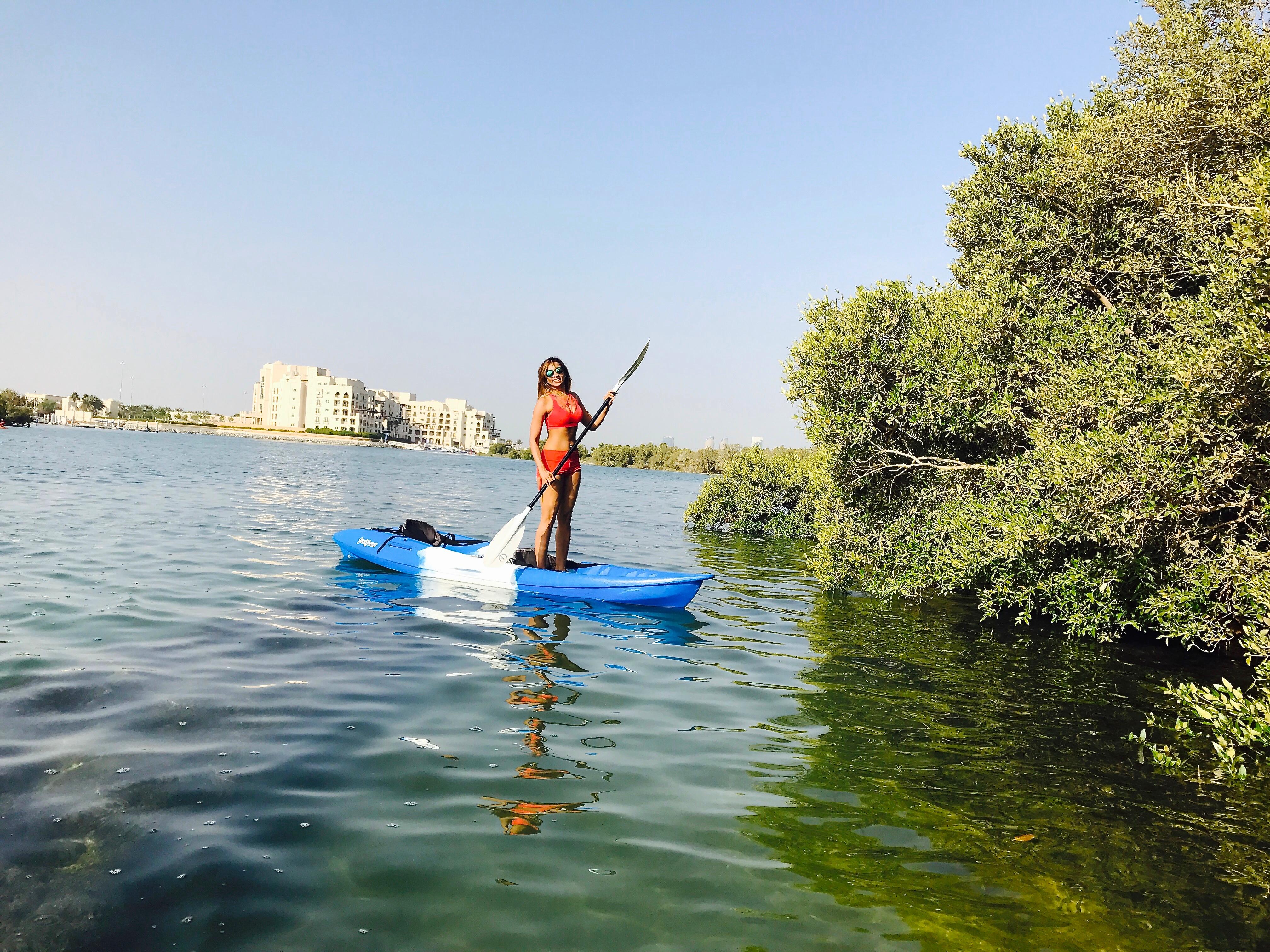 Best Place To Kayak In Abudhabi Eastern Mangroves