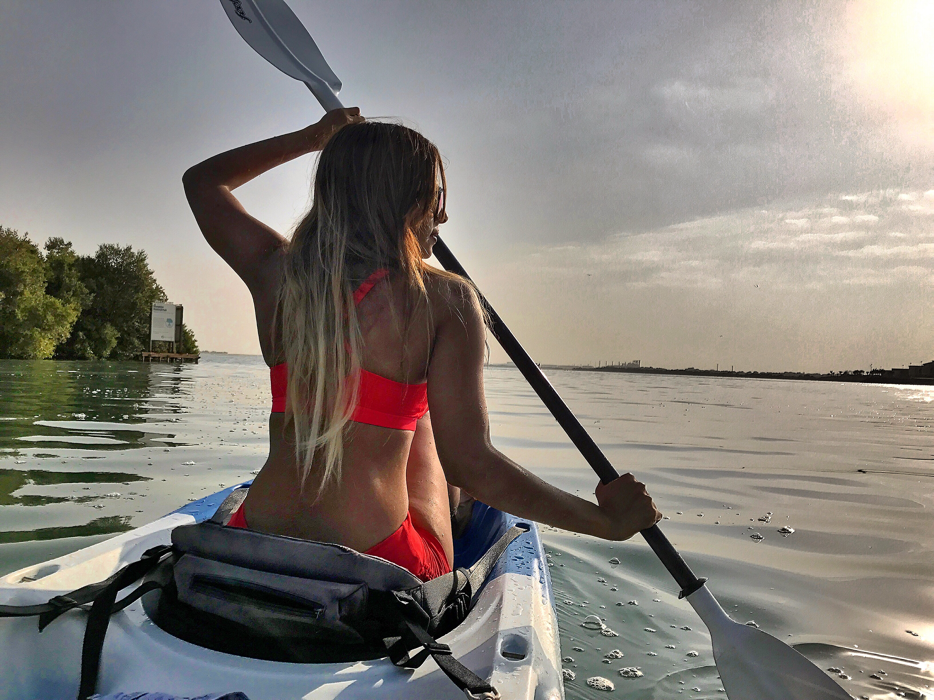 Best place to kayak in Abudhabi , UAE (Eastern Mangrove kayaking affair )
