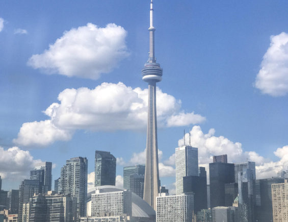 DINE IN TORONTO : Lunch @CN Tower IN 360 RESTAURANT..