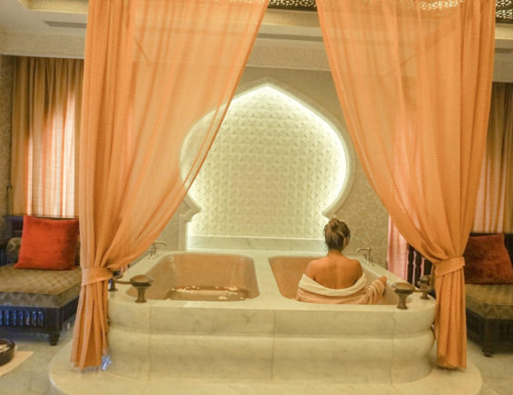 Royal Pampering at Emirates Palace Spa – Abudhabi